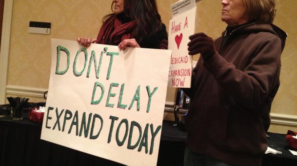 Hazel says U.S. health care funds could narrow Va. budget gap