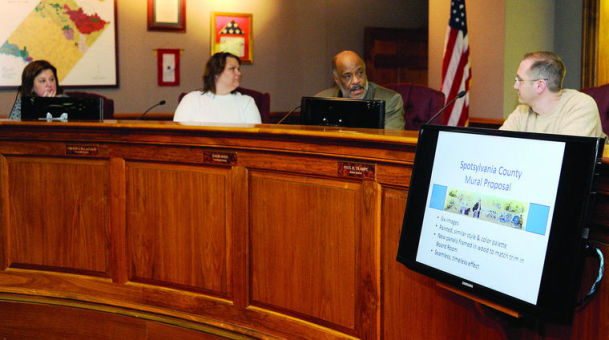 Spotsylvania commission selects additions for mural