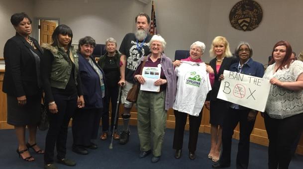 Senators join push to strike criminal history questions