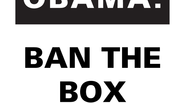 Let's Ban the Box for Federal Jobs!