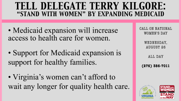 Action Alert: Call Delegate Terry Kilgore TODAY!