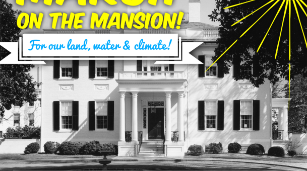 Virginians to March on the Governor's Mansion to Demand Climate Justice