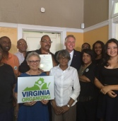 Virginia Organizing Applauds Governor McAuliffe's Decision to Remove Barrier of Court Costs and Fees as Condition of Restoration of Civil Rights
