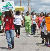 Virginia Organizing and VSU hold walk to raise awareness for indoor farm