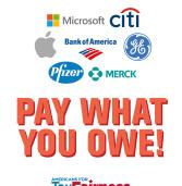 Encourage Senator Warner to Stop Corporate Tax Loopholes!