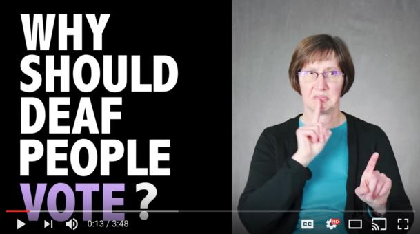 Why Should Deaf People Vote?
