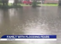 Norfolk family says when it rains, it floods to the point they can't leave the house