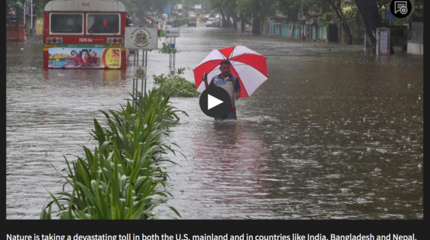 Did climate change make recent extreme storms worse?